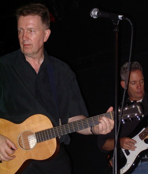 Tom Robinson & Jay Spears, 6/13/04, photo by JD Doyle