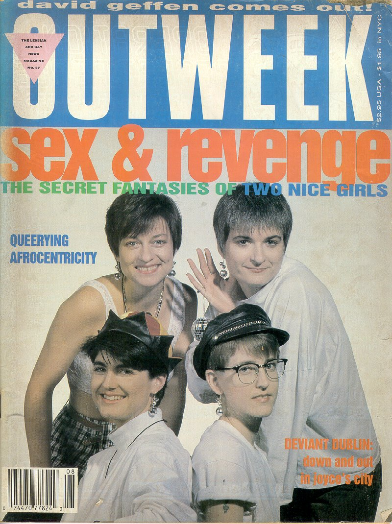 Outweek, Feb 27, 1991, cover pic