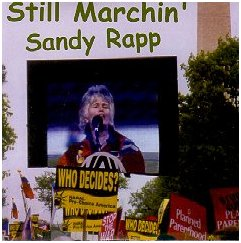 "Sandy Rapp's CD ""Still Marchin'"""