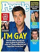 Yup, Lance Bass is gay