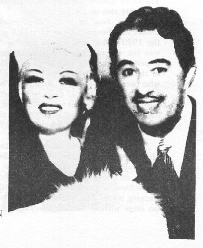 Ray appeared with Mae West in two of her plays, dressed as a woman