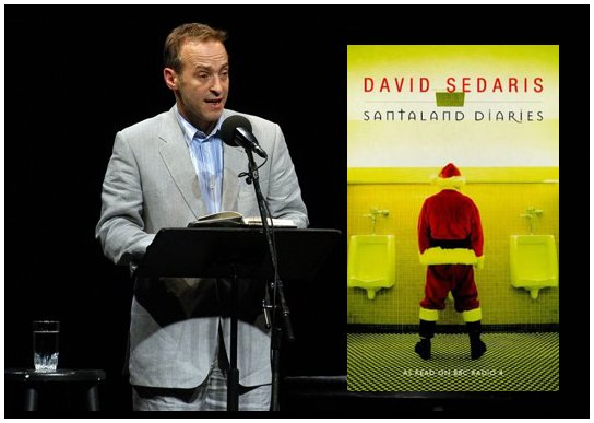 and following david sedaris was the only straight artist on the show this year they are allowed if the song is lyrically gay so bill whytes its okay to - David Sedaris Christmas