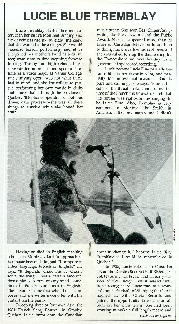 Hot Wire,  7/88