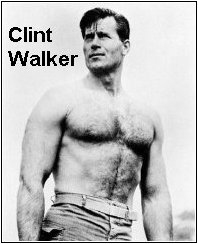 Clint Walker and Smokey the Bear