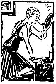 illustration from a 1930 article on Jackie Maye and  Jean Malin