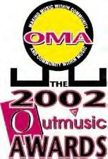 Outmusic awards logo