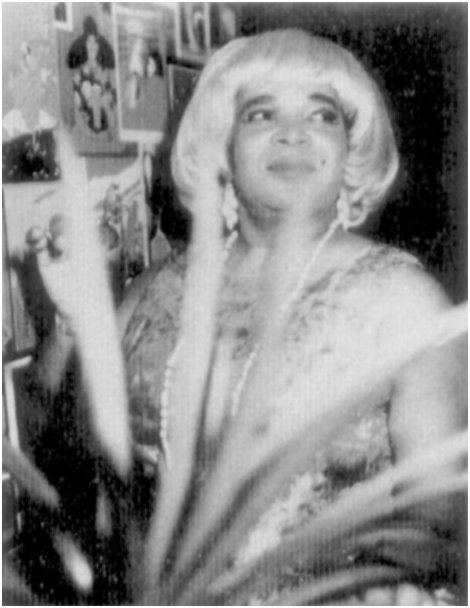 Bobby Marchan, in drag