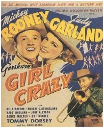 """Girl Crazy"" poster, with Mickey & Judy"