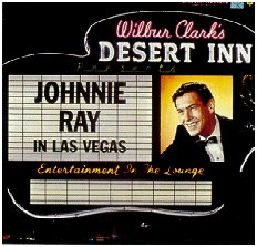 Johnnie Ray - In Las Vegas, 1958