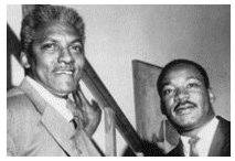 Rustin & Martin Luther King Jr