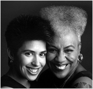 Gaye and her partner, Suzanne Moe