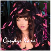 "Candye Kane's latest, ""Guitar'd & Feathered"""