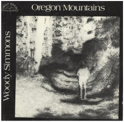 "Woody Simmons, ""Oregon Mountains,"" 1977"