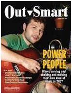 on the cover of Outsmart Magazine