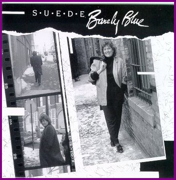 "Suede CD ""Barely Blue"""